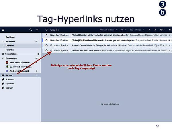 Tag-Hyperlinks nutzen