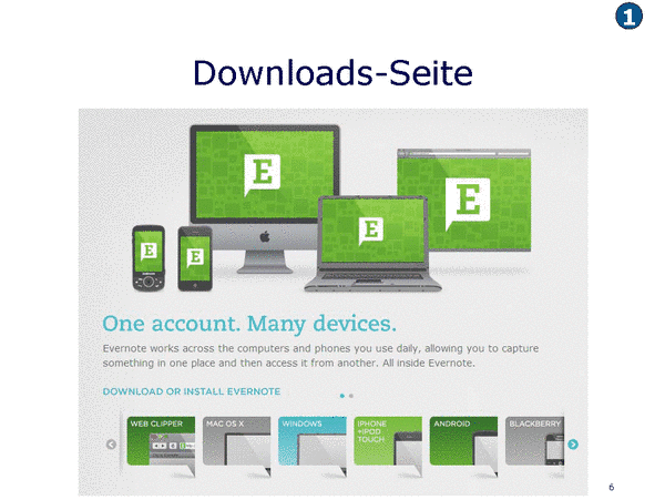 Downloads-Seite